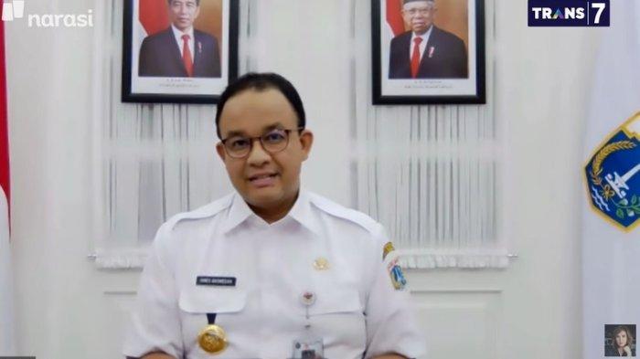 Gubernur DKI Jakarta Anies Baswedan kembali menerapkan PSBB, dalam acara Mata Najwa, Rabu (9/9/2020).