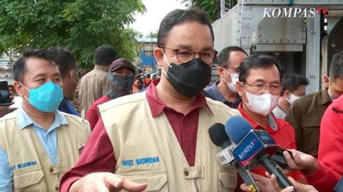 Soal Banjir Jakarta, Anies Baswedan: Sungai Antar Provinsi adalah Tanggung Jawab Pemerintah Pusat