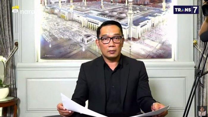 Gubernur Ridwan Kamil Minta Maaf soal Penanganan Covid-19 di Jawa Barat: Bukan Situasi yang Mudah