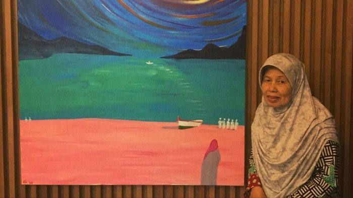 Lukis Kisah Hidup Ibunda, Ridwan Kamil Ungkap Arti dari Hasil Karyanya yang Penuh Makna