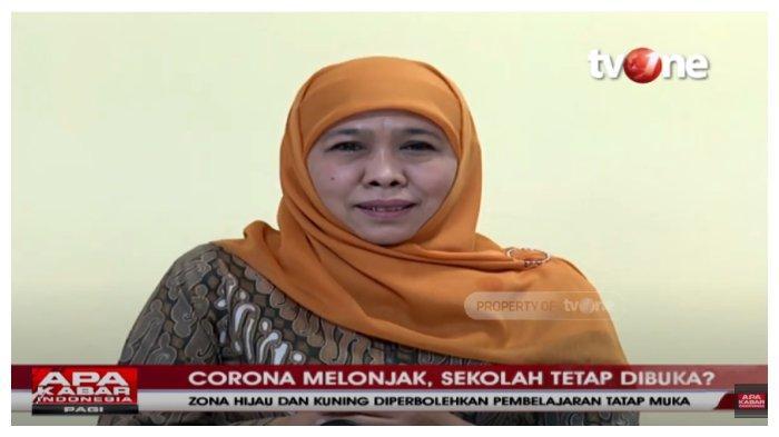Kasus Covid-19 Masih Tinggi, Jawa Timur Uji Coba Sekolah Tatap Muka, Khofifah: Mulai 18 Agustus