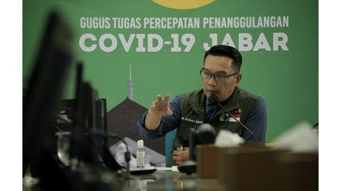 Ridwan Kamil Sebut 50 Persen Wilayah Jabar Masih Zona Merah setelah PSBB: 30 Persen Membaik