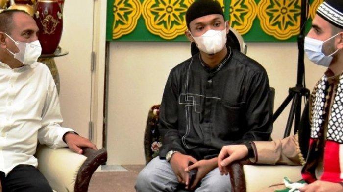 Isi Pembahasan Imam Masjid Palestina Bertemu Gubernur Sumut Edy Rahmayadi, Singgung Konflik di Gaza