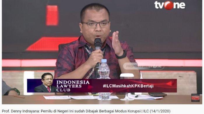 Di ILC, Denny Indrayana Sebut KPK Sudah Mati: Bisa Bertahan karena Semangat Reformasi