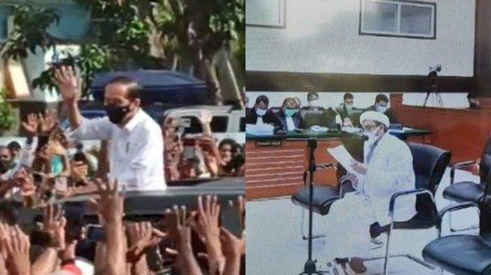 Ogah Disebut Penjahat Prokes, Rizieq Shihab Bawa-bawa Gibran hingga Jokowi: Hanya Pelanggar