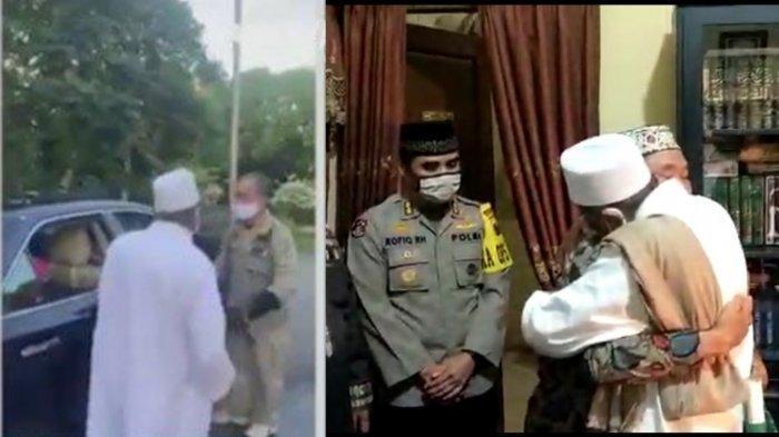 Akhirnya Berdamai, Habib Umar Assegaf yang Viral karena Mengamuk, Berpelukan dengan Pihak Satpol PP