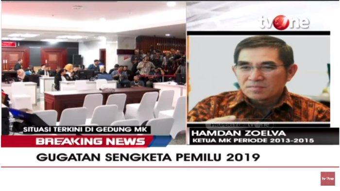 Mantan Ketua MK Hamdan Zoelva Sebut Hasil Pemenang Pilpres Bisa Berubah dari Jokowi ke Prabowo