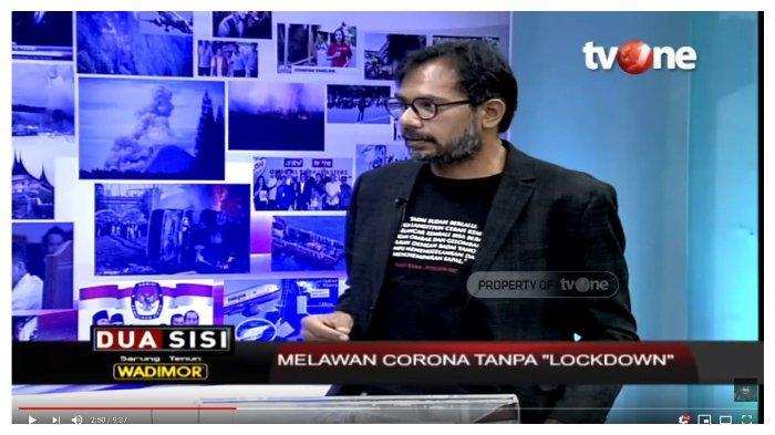 Soal Corona, Haris Azhar Bandingkan Jokowi dan Tenaga Medis: Banyak Bicara Enggak Mau Dengar