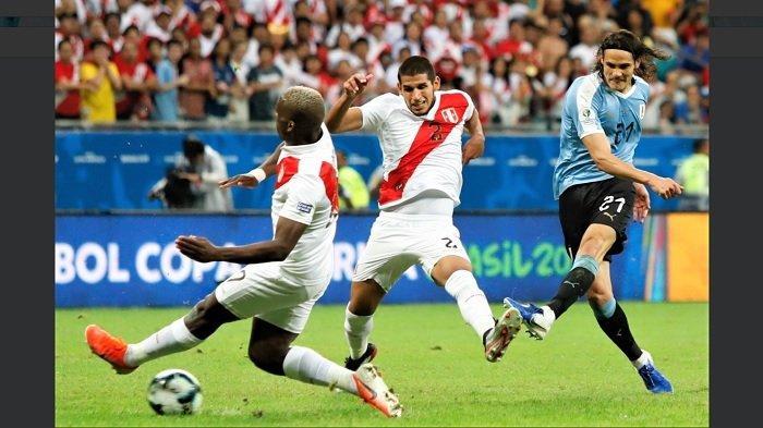Hasil Copa America 2019 Peru Vs Uruguay, Los Charruas Gagal ke Semifinal setelah Kalah Adu Penalti
