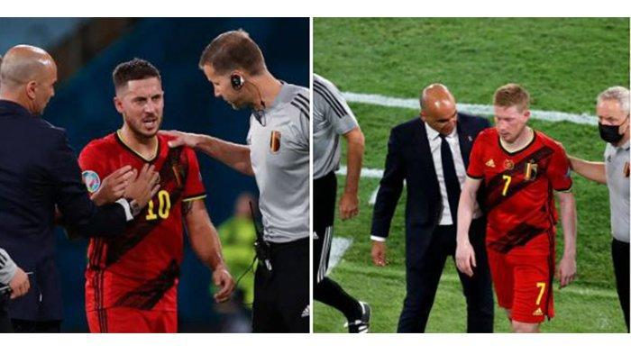 EURO 2020: Jelang Kontra Italia, Belgia Kehilangan Eks Kiper Liverpool, Hazard-De Bruyne Diragukan
