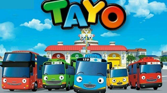 Lirik Lagu Anak Hai Tayo Lagu Animasi Tayo The Little Bus Tribun Wow