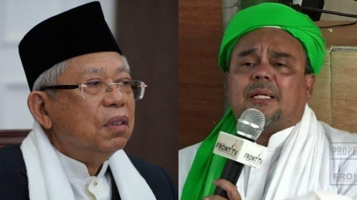Wapres Maruf Amin Siap Terbuka Berdialog dengan Habib Rizieq Shihab, Jubir: Selama Membawa Kebaikan