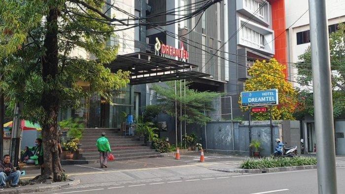 Hotel Dreamtell yang berada di kawasan Gondangdia, Menteng, Jakarta Pusat menjadi lokasi penemuan mayat wanita tanpa busana.