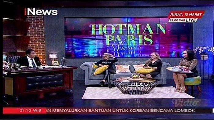 Hotman Paris Show mengundang Nikita Mirzani dan Lia Ladysta.