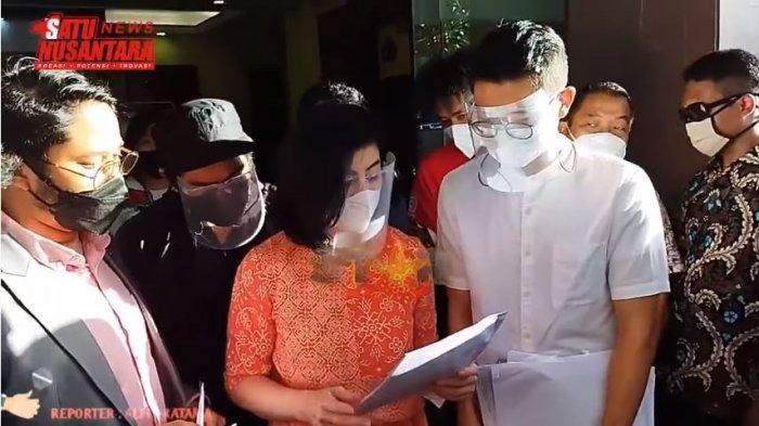 Laporkan Hotma Sitompul, Desiree Tarigan Ibunda Bams Eks Samsons Jawab Tudingan Selingkuh