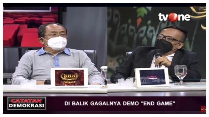 Didebat Said Didu, Relawan Jokowi Tuding Oposisi Jadi Dalang Seruan Demo Jokowi End Game: Nipu Semua