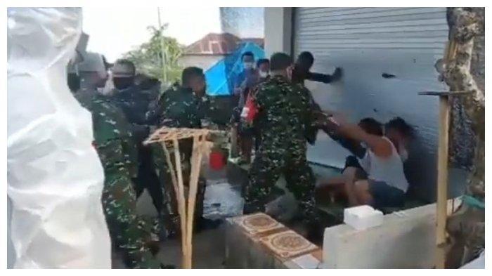 Kronologi Video Viral Sejumlah Anggota TNI Hajar Warga Buleleng, Bermula saat Kepala Dandim Dipukul