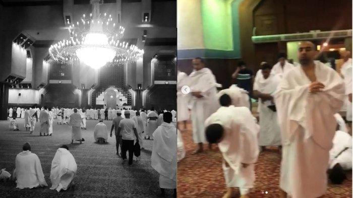 Ifan Seventeen menjadi imam salat isya di Masjid Ayesha Makkah