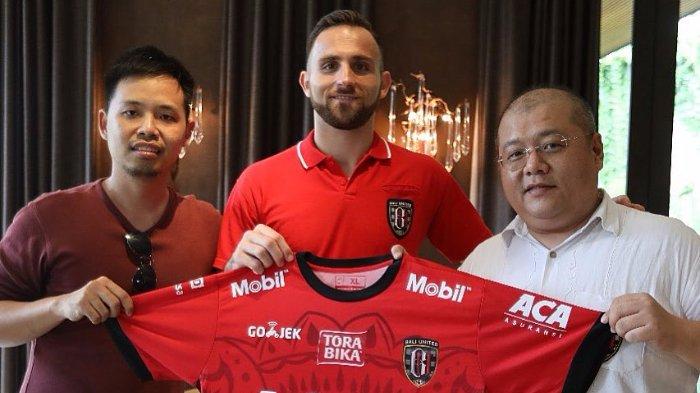 Ilija Spasojevic mantan pemain Persib Bandung yang kini membela Bali United