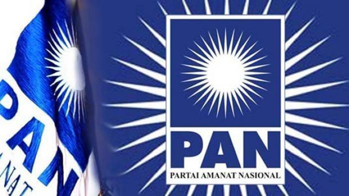Ilustrasi bendera Partai Amanat Nasional (PAN).  Kabarnya, satu di antara dua nama kader PAN santer dikabarkan mengisi Kabinet Indonesia Maju Jilid II.
