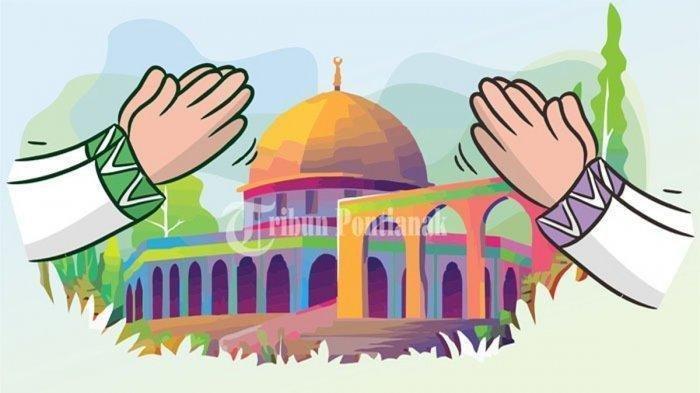 Ilustrasi Idul Fitri.