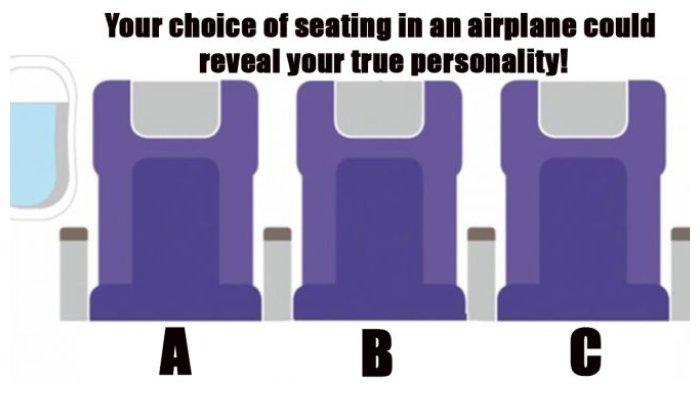 Pilih Dekat Jendela atau Lorong? Kursi Pesawat Ungkap Kepribadian Kamu Lho, Cek di Sini!