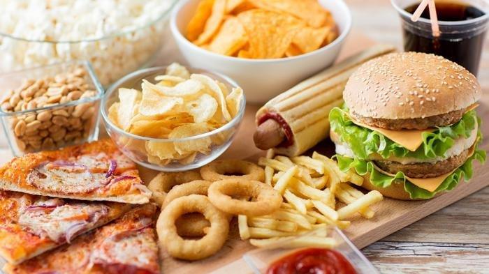 ilustrasi makanan fat trans acid