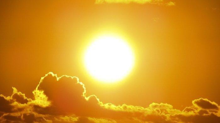 Ilustrasi matahari.