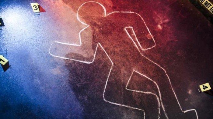 Ilustrasi pembunuhan yang dilakukan oleh seorang ayah terhadap 2 anak yang masih balita.