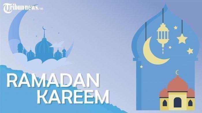 Ilustrasi Ramadan.