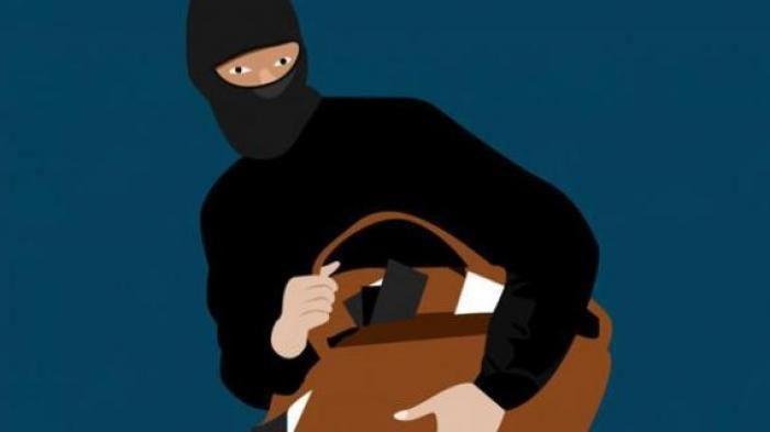 ilustrasi komplotan bandit spesialis pecah kaca di Prabumulih merampok dana BOS sebesar Rp 107 juta.