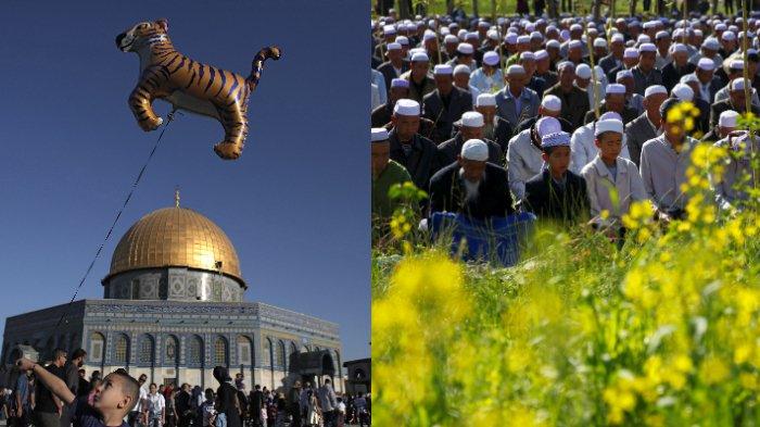 Deretan Foto Perayaan Idul Fitri di Berbagai Negara, dari Australia hingga Palestina