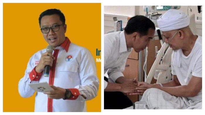 Bagikan Video Jokowi Jenguk Arifin Ilham, Menpora Minta Publik Doakan Kesembuhan sang Ustaz