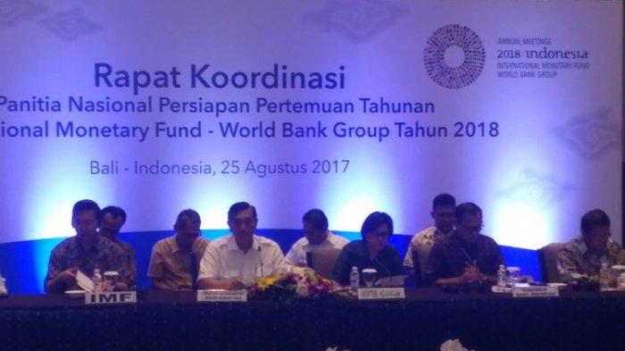 4 Tema Prioritas Bidang Keuangan yang Diperjuangkan Indonesia dalam Rapat Tahunan IMF-WB 2018