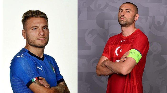 Adu Tajam Dua Bomber Timnas Italia Vs Turki yang Berpeluang Jadi Pembeda di Laga Perdana EURO 2020