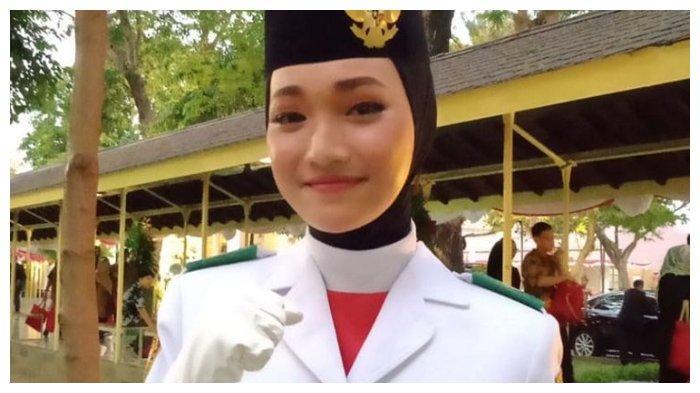 Sosok Indrian Puspita, Gadis Asal Aceh yang Jadi Pembawa Bendera di Istana, Bercita-cita Masuk Akpol