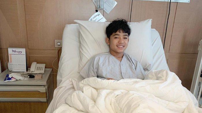 Ini Doa Tulus Ruben Onsu saat Bagikan Foto Betrand Peto Tidur di Kasur Rumah Sakit Jelang Sunat