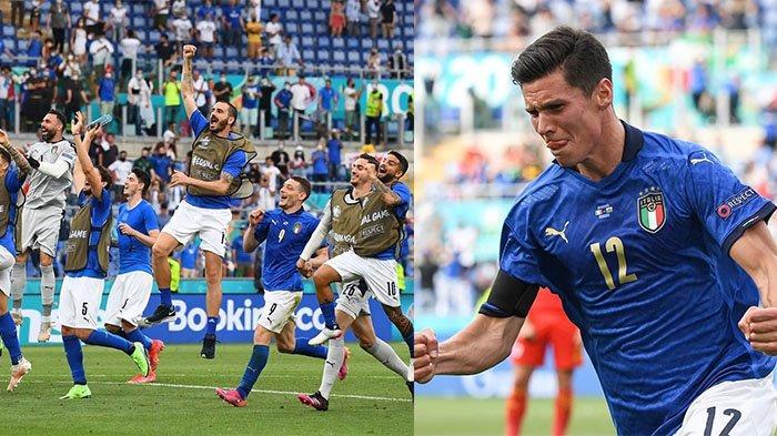 Hasil EURO 2020: kalahkan Wales 1-0, Italia Sapu Bersih Kemenangan dan Puncaki Grup A