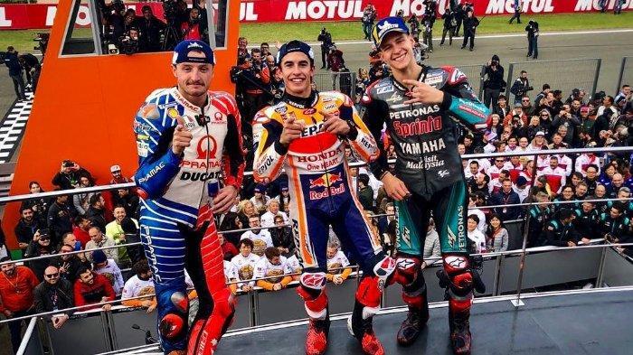 Hasil Seri Balapan Terakhir MotoGP Valencia 2019: Marc Marquez Persembahkan Triple Crown untuk Honda