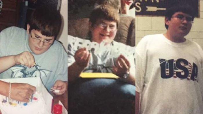 Jeffrey Kendall sejak kecil sudah memiliki tubuh yang besar.