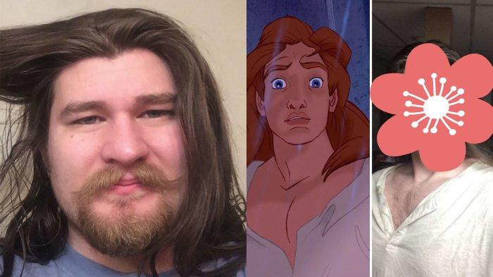 Sukses Turunkan Berat Badan hingga 70 Kg, Pria Ini Langsung Dijuluki Pangeran dalam Film Disney