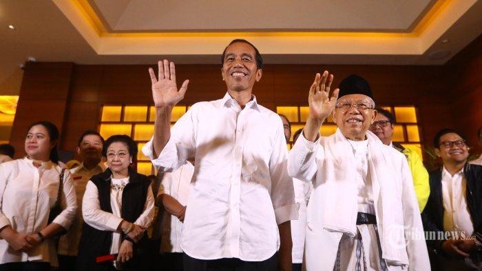 Media Asing Soroti Kemenangan Jokowi-Ma'ruf Versi Quick Count, Sebut 'Hasil Tak Resmi'