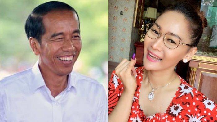 Jokowi-Ma'ruf Menang Quick Count, Inul Daratista: Tak Sia-sia Terjengkang di Panggung