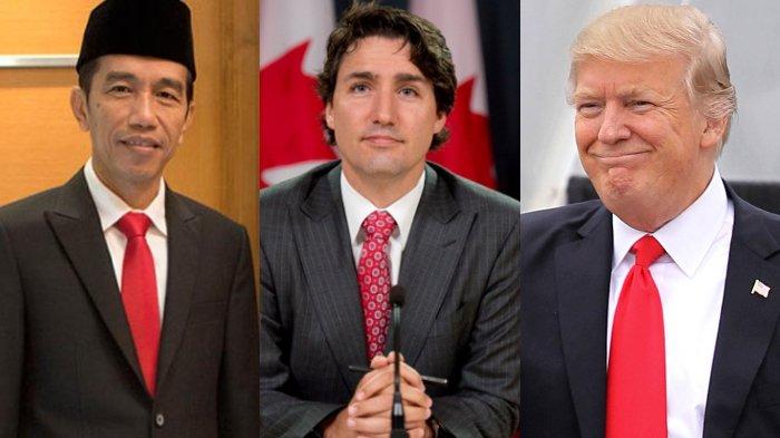 Perbandingan Gaji Sembilan Pemimpin Negara, dari Donald Trump hingga Joko Widodo