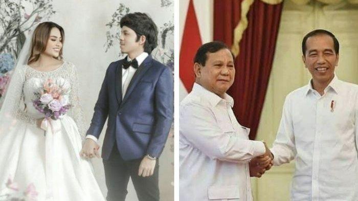 Jokowi dan Prabowo dikabarkan bakal hadiri penrikahan Atta dan Aurel