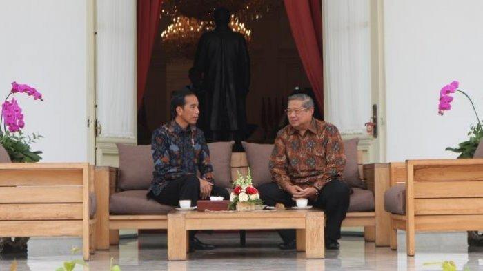 Ngobrol 5 Menit di Istana, Apa yang Dibicarakan Jokowi dan Waketum Demokrat?