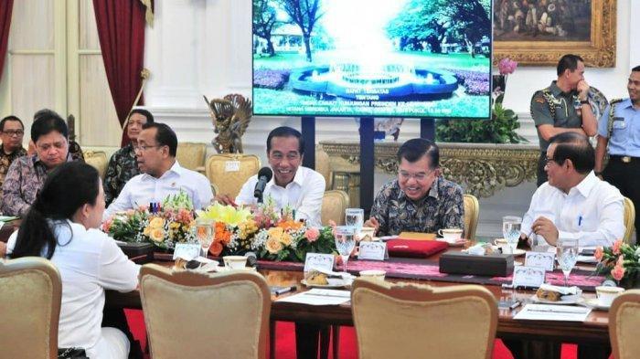 Hari Pertama Jokowi sebagai Presiden setelah Dinyatakan Menang Pilpres Versi Hitung Cepat