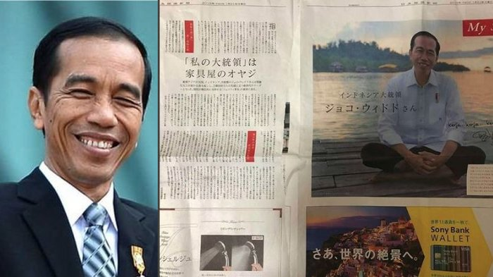 Sosok Jokowi Dimuat di Media Jepang, Diulas Sebanyak 2 Halaman Penuh, Isinya Mendadak Jadi Sorotan