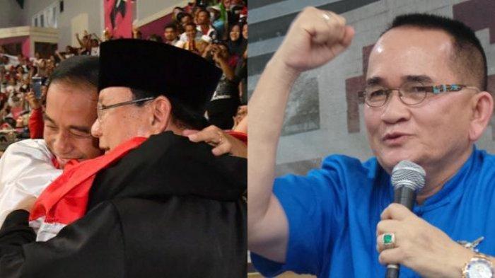 Prabowo Pelukan Dengan Jokowi Ruhut Sitompul Menginginkannya Jadi