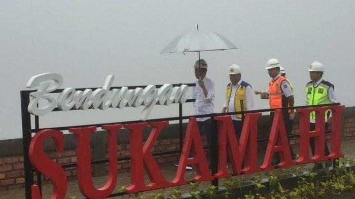 Jokowi Tinjau Dua Proyek Bendungan di Bogor yang Akan Selesaikan Masalah Banjir Jakarta